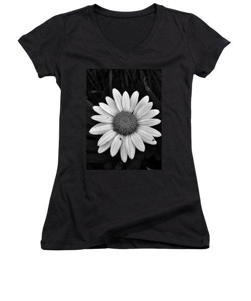 Women's V-Neck T-Shirt (Junior Cut) featuring the photograph Sunshine by Janice Spivey