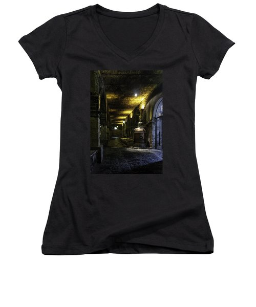 Tequilera No. 2 Women's V-Neck T-Shirt