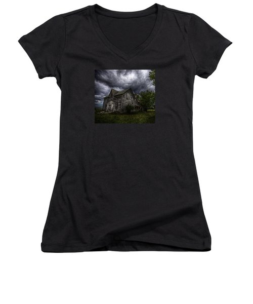 The Farm Women's V-Neck (Athletic Fit)