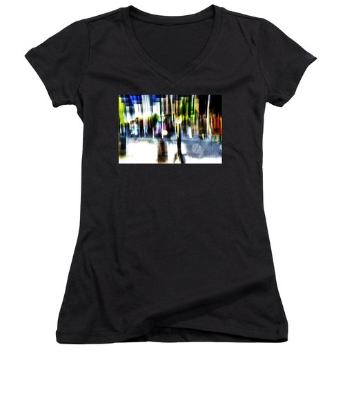 The Man In The Door Women's V-Neck T-Shirt