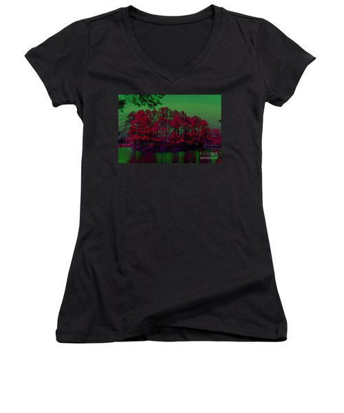 The Red Forest Women's V-Neck