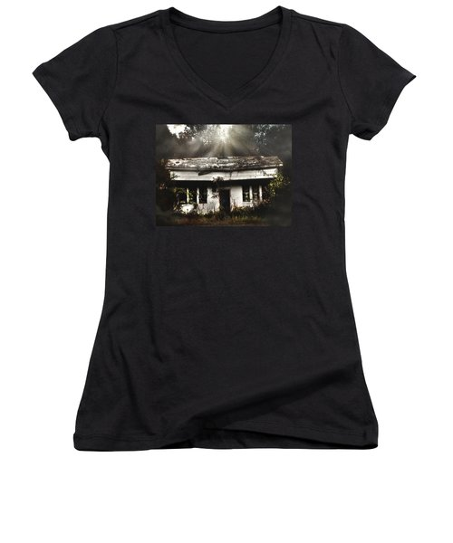 The Shack Women's V-Neck (Athletic Fit)