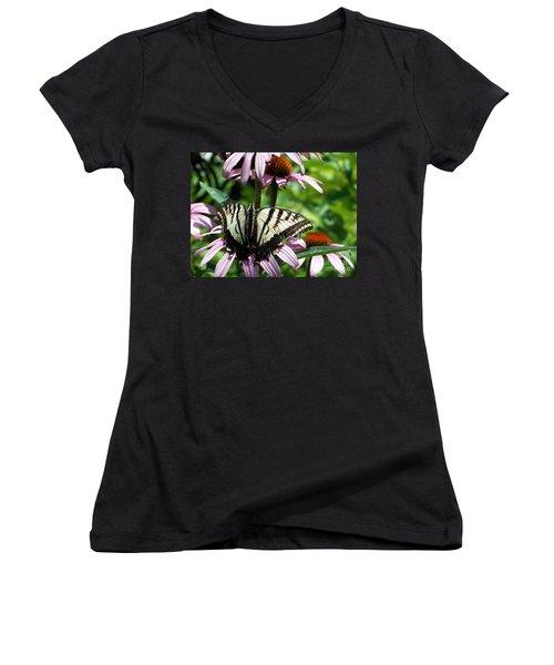 The Survivor Women's V-Neck T-Shirt