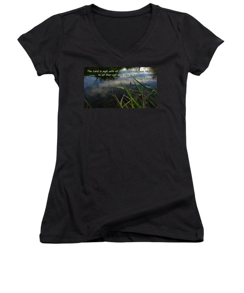 The Truth Factor Women's V-Neck (Athletic Fit)