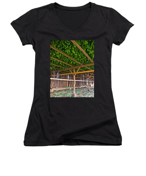 Tobacco Women's V-Neck