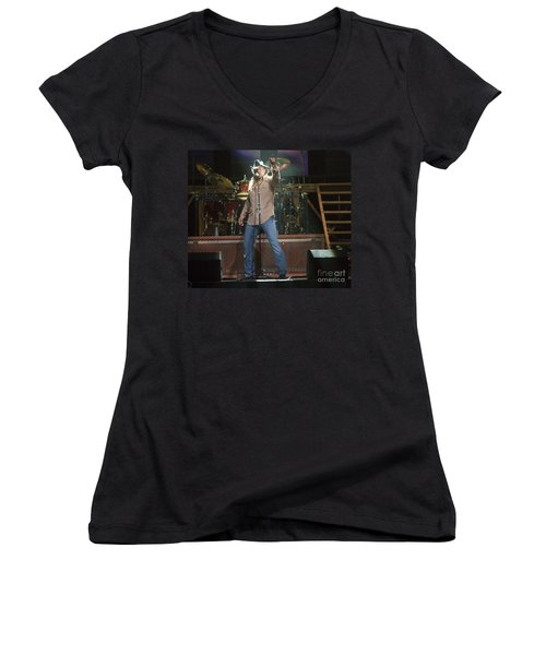 Trace Adkins Women's V-Neck (Athletic Fit)