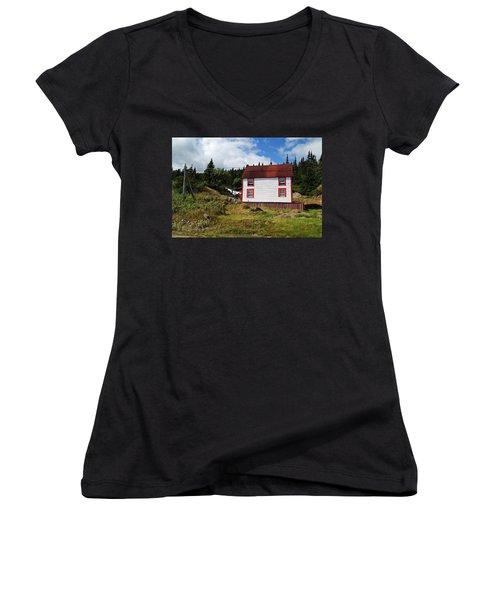 Trinity Road Laundry Women's V-Neck T-Shirt