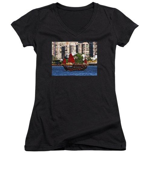 Valiant Host Women's V-Neck T-Shirt