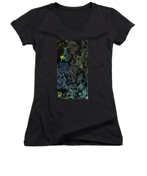 Water Puddles Women's V-Neck T-Shirt