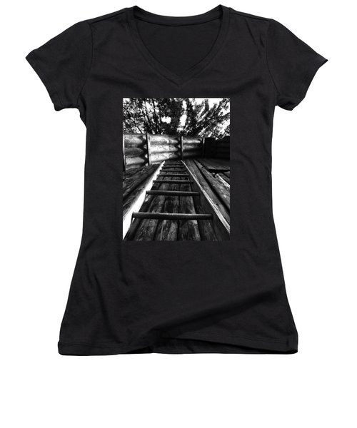 Way Up Women's V-Neck T-Shirt