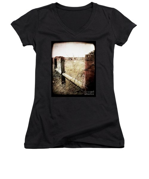 When Time Fades Women's V-Neck