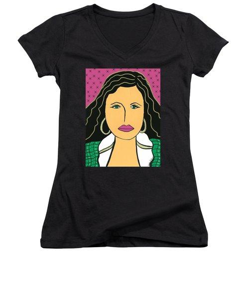 Work Women's V-Neck T-Shirt (Junior Cut)