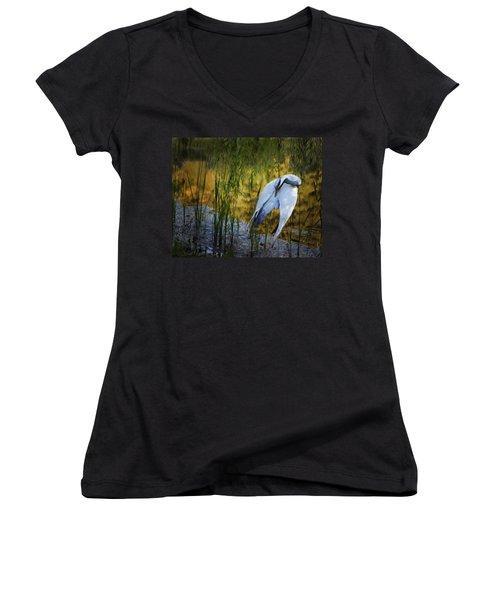 Zen Pond Women's V-Neck