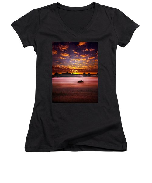 Quiescent  Women's V-Neck