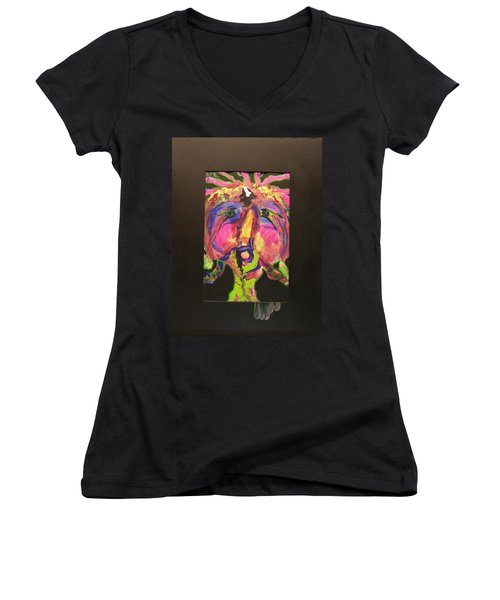 Self Portrait Women's V-Neck T-Shirt