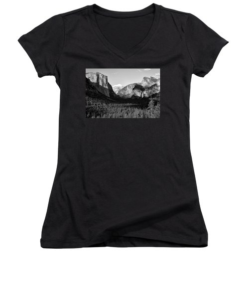 Valley Of Inspiration Women's V-Neck T-Shirt