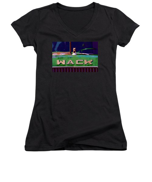 Wack Truck Women's V-Neck