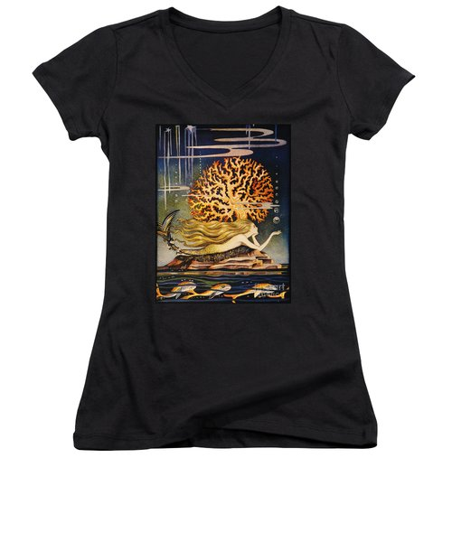 Andersen: Little Mermaid Women's V-Neck
