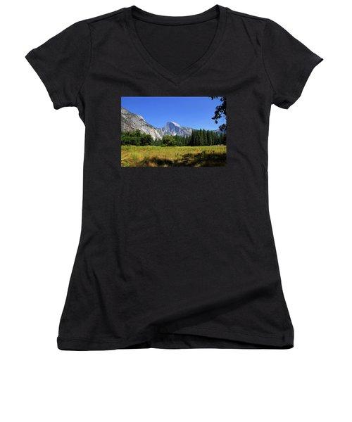 @ Yosemite Women's V-Neck T-Shirt