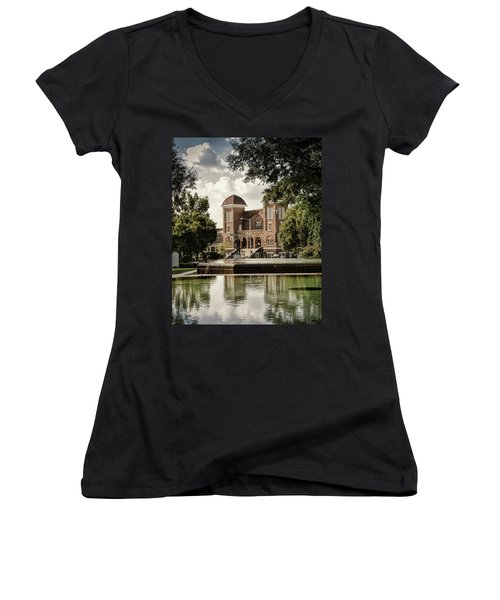 16th Street Baptist Church Women's V-Neck T-Shirt