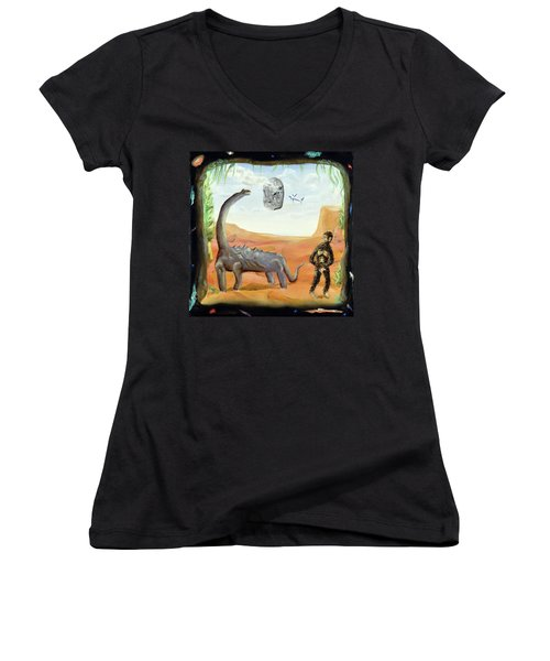 Abiogenesis Women's V-Neck