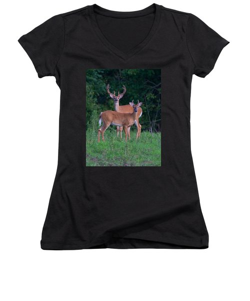 Buck Father And Son Women's V-Neck