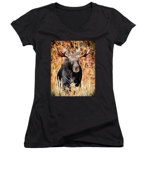 Bull Moose Women's V-Neck