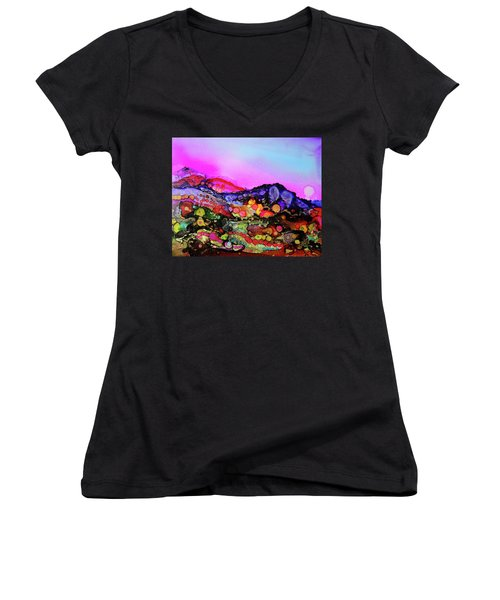 Colorful Colorado Women's V-Neck (Athletic Fit)