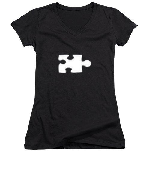 Curves Women's V-Neck T-Shirt