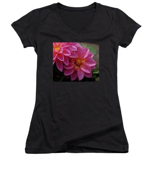 Dahlia Beauty Women's V-Neck T-Shirt