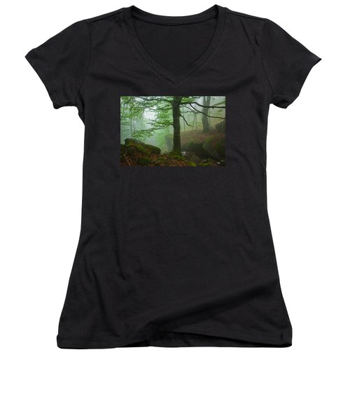 Dark Forest Women's V-Neck