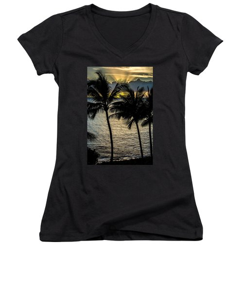 Day Is Done Women's V-Neck