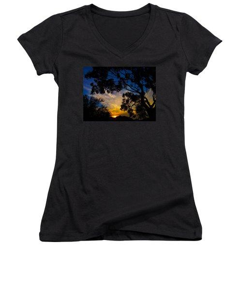 Dream Sunrise Women's V-Neck T-Shirt