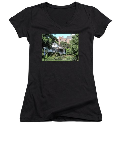 Dyckman House Women's V-Neck (Athletic Fit)