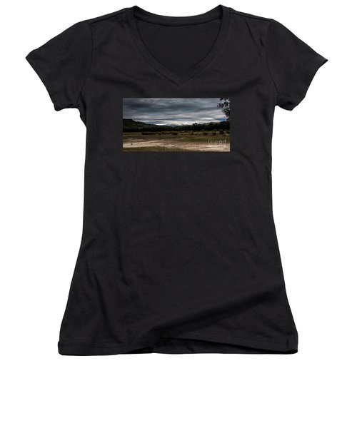 Etna, The West Side Women's V-Neck