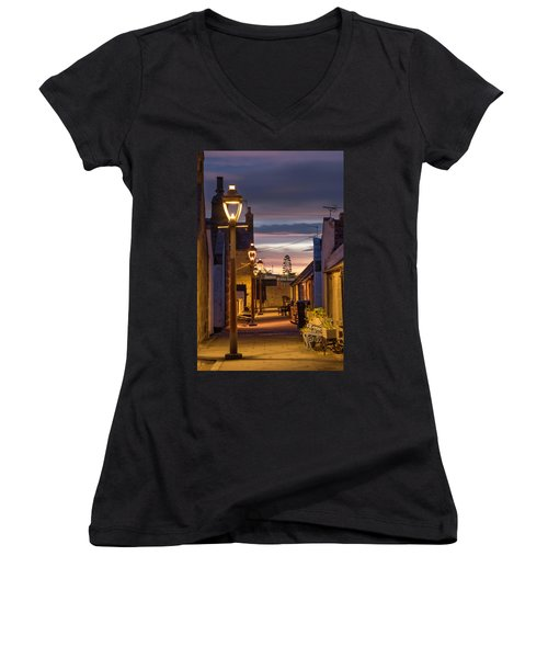 Fittie At Night Women's V-Neck (Athletic Fit)