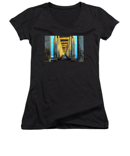 Golden Morning Women's V-Neck T-Shirt