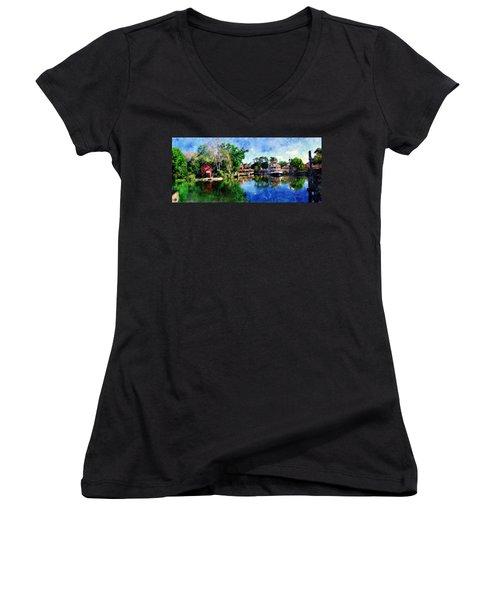 Harper's Mill Women's V-Neck T-Shirt