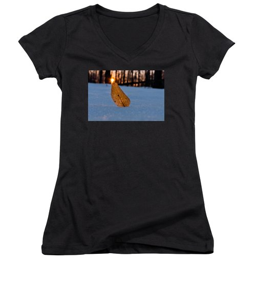 Its The Small Things Women's V-Neck T-Shirt