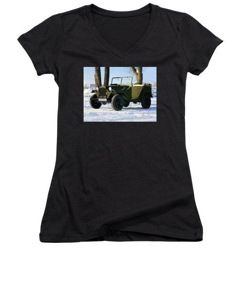 Jeep Women's V-Neck