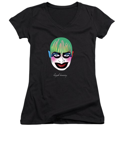 Leigh Bowery 5 Women's V-Neck (Athletic Fit)