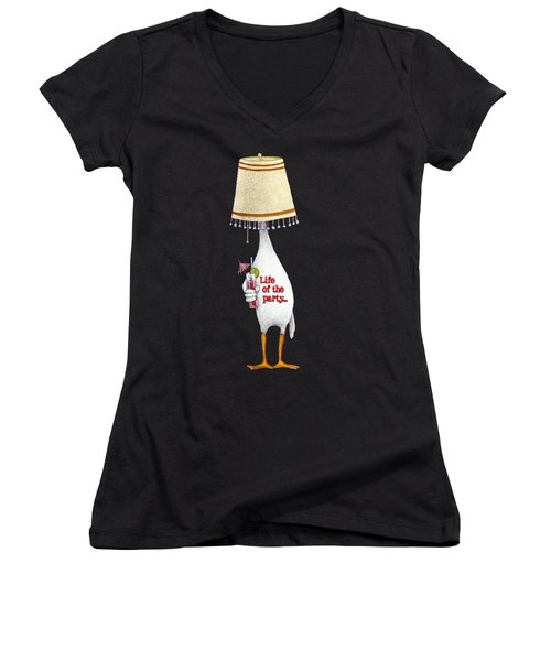 Life Of The Party... Women's V-Neck