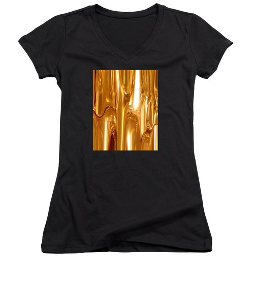 Liquid Gold Women's V-Neck (Athletic Fit)