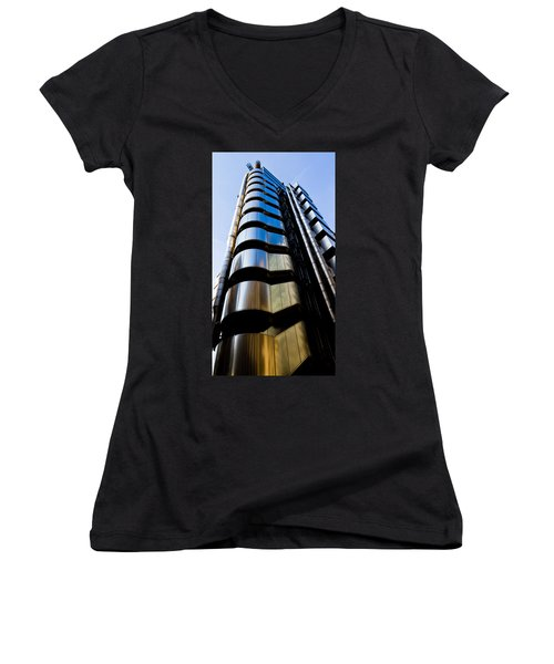Lloyds Of London  Women's V-Neck T-Shirt