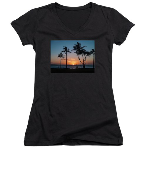 Maui Sunset Women's V-Neck