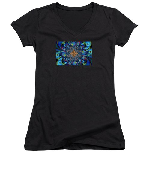 Past Life Women's V-Neck (Athletic Fit)