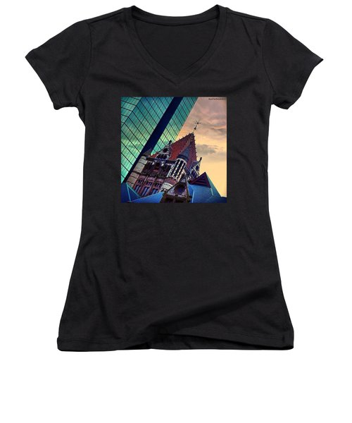 Photoshopping Throwback Thursday - Women's V-Neck