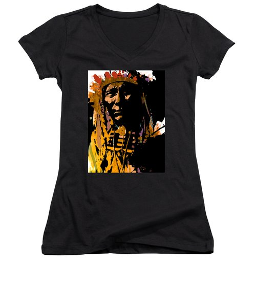 Proud Chief Women's V-Neck (Athletic Fit)