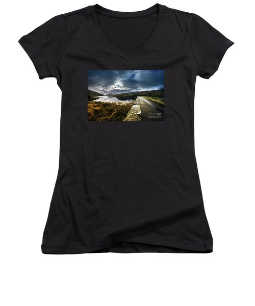 Road To Snowdon Women's V-Neck