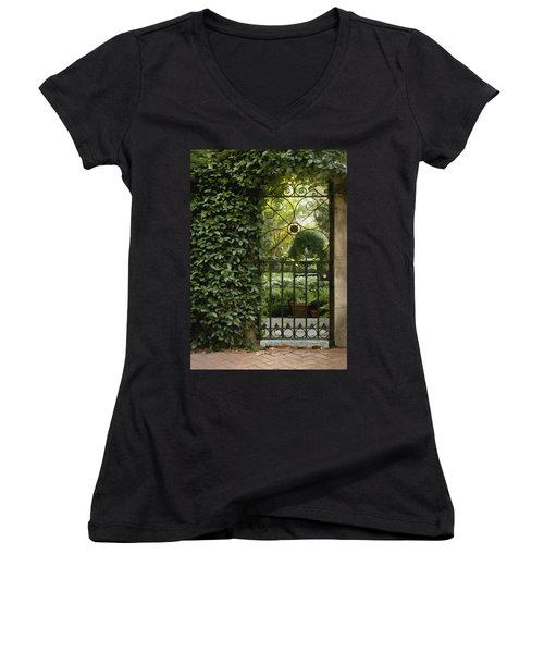 Savannah Gate Women's V-Neck T-Shirt
